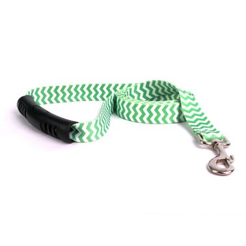 Chevron - Lime EZ-Grip Dog Leash