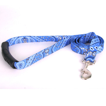 Bandana Blue EZ-Grip Dog Leash