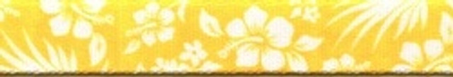 Aloha Yellow EZ-Grip Dog Leash