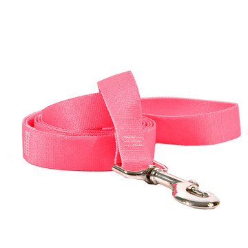 Solid Pink Dog Leash