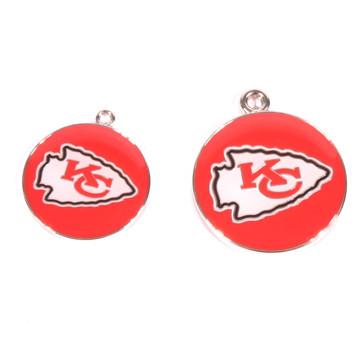Kansas City Chiefs NFL Dog Tags With Custom Engraving
