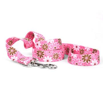 Daisy Chain Pink Dog Leash