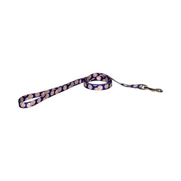 Baseballs Dog Leash