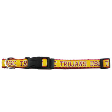 U of Southern Cal Dog Collar