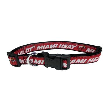 Miami Heat Dog Collar