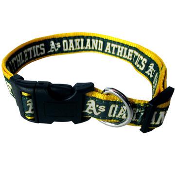 Oakland Athletics Dog COLLAR