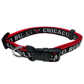 Chicago Bulls Dog Collar