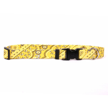 Bandana Yellow Dog Collar