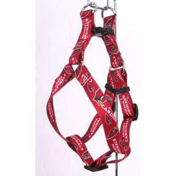 premium selection eeb98 2b0c6 Arizona Cardinals Step-In Dog Harness