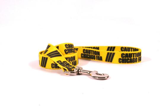 Caution Chicago Fan Dog Leash