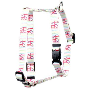 "LOVE Roman Style ""H"" Dog Harness"