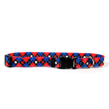 American Argyle Dog Collar