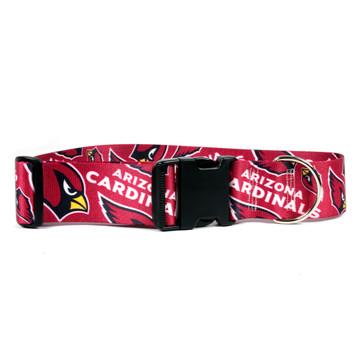 detailed look c5b70 e8201 Arizona Cardinals 2 Inch Wide Dog Collar