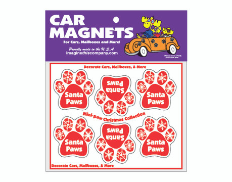 Santa Paws Magnets