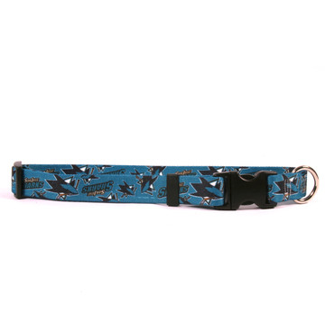 San Jose Sharks Dog Collar