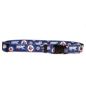 f4a8315953a Winnipeg Jets Dog Collar by Yellow Dog Design