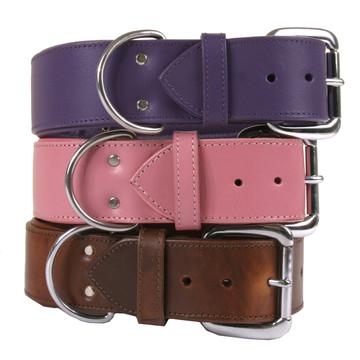 The Dallas - Luxury Leather Dog Collar
