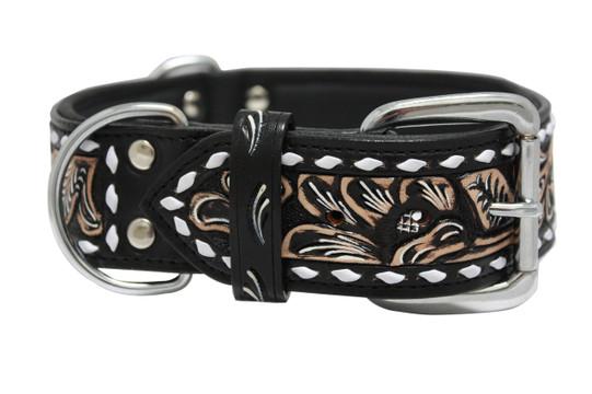 The Laredo - Luxury Leather Dog Collar