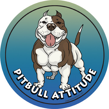 Pit Bull Attitude Magnet