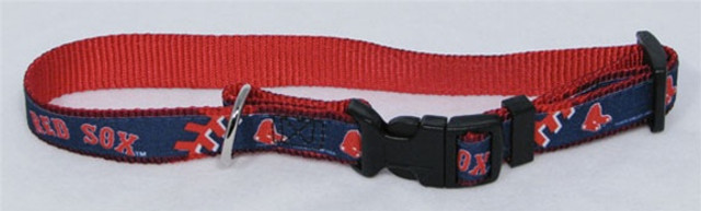 Boston Red Sox Premium Pet Collar
