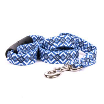 Aztec Blue EZ-Grip Dog Leash