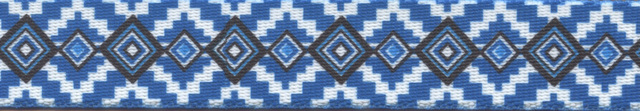 Aztec Blue Waist Walker