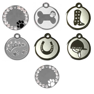 Stainless Steel Dog ID Tags