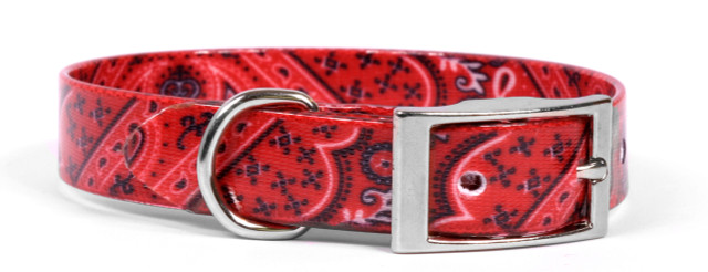 Bandana Red Elements Dog Collar