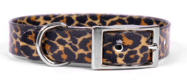 Leopard Skin Elements Dog Collar