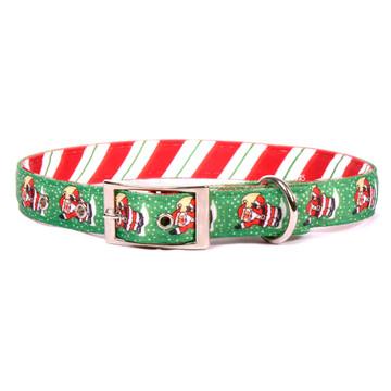 Santa Claus Uptown Dog Collar
