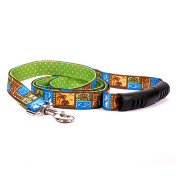 Tiki Print Uptown Dog Leash