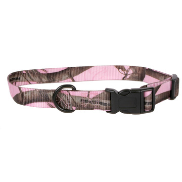 Real Tree Pink Camouflage Kwik Klip Dog Collar
