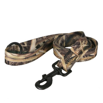 Real Tree Mossy Oak Blades Camouflage Dog Leash