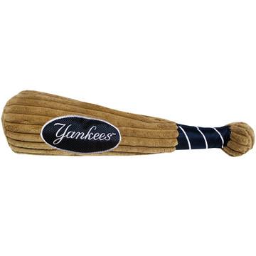 New York Yankees Baseball Bat Squeaker Dog Toy
