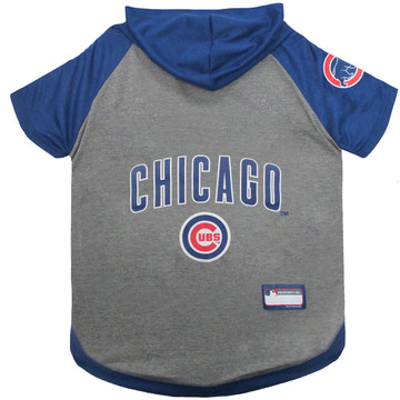 Chicago Cubs Hoodie T-Shirt For Dogs