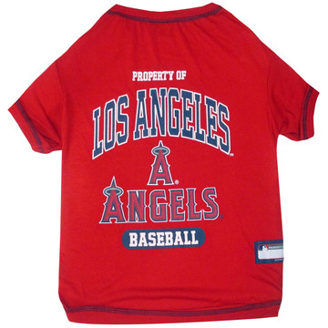 Anaheim Angels Tee Shirt For Dogs