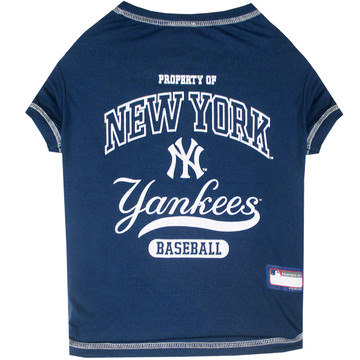 New York Yankees Tee Shirt For Dogs