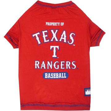 Texas Rangers Tee Shirt For Dogs
