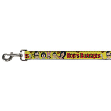 Bobs Burgers Belcher Family Buckle Down Dog Leash