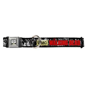 AMC The Walking Dead Zombies Buckle-Down Seat Belt Buckle Dog Collar