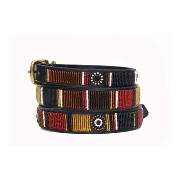 Topi Beaded Kenyan Dog Collar