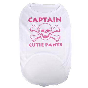captain Cutie Pants Pet T-Shirt