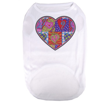 Crazy Hearts Pet T-Shirt