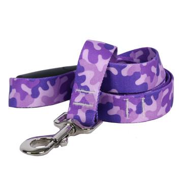 Camo Purple EZ-Grip Dog Leash