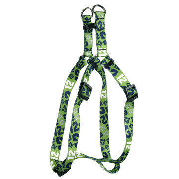 12th Dog Green Step-In Dog Harness