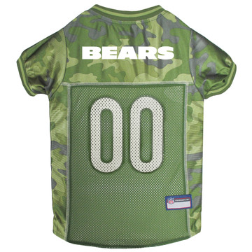 Chicago Bears NFL Football Camo Pet Jersey