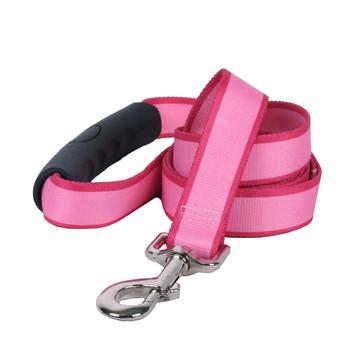 Sterling Stripes Light Pink and Magenta Dog Leash