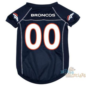 Denver Broncos NFL Football Dog Jersey - CLEARANCE