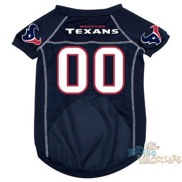 599d712054f Houston Texans NFL Football Dog Jersey - CLEARANCE. Buy with confidence  because we ve got your covered with our amazing