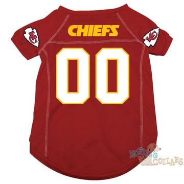 Kansas City Chiefs NFL Football Dog Jersey - CLEARANCE